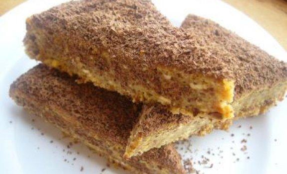 Migdolinis pyragas su šokoladu
