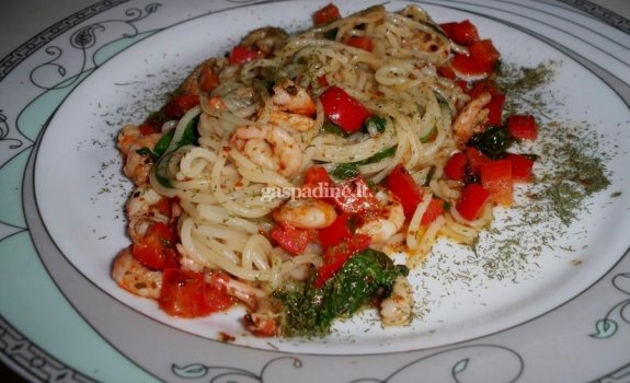 Spaghetti su krevėtėmis