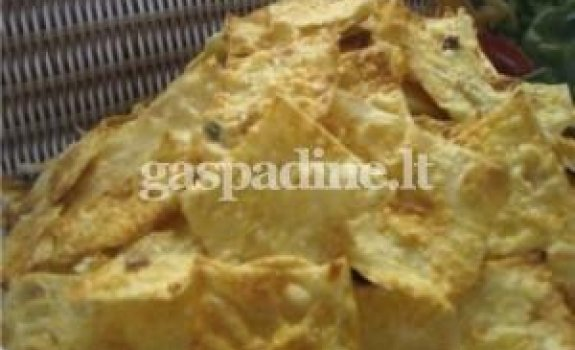 Sūrūs lavašo traškučiai