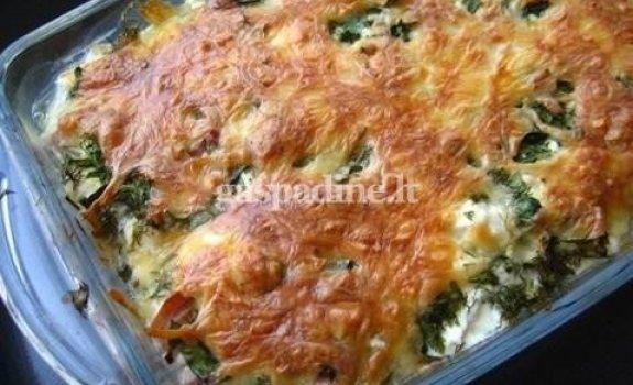 Sojos ir brokolių apkepas