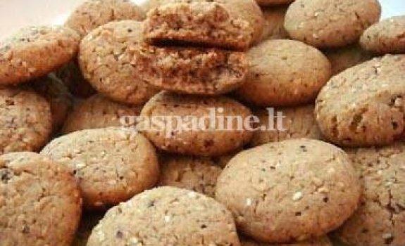 Grikių miltų sausainiukai