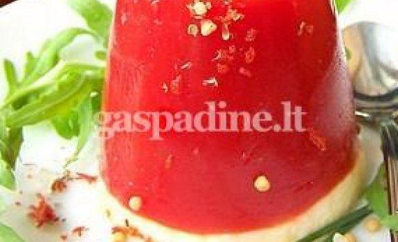 Pomidorų želė su mocarela