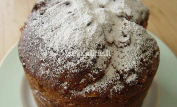 """Duona su razinomis, riešutais ir vaisiais """"Pan Dulce"""""""