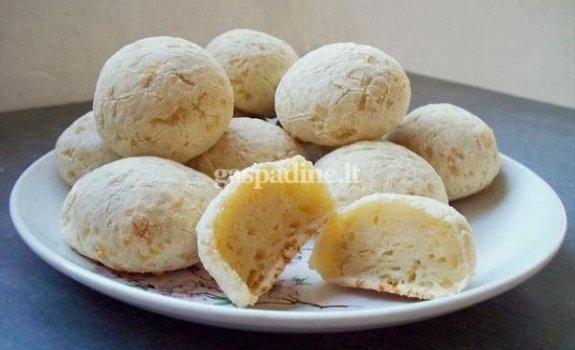 "Bandelės ""Chipá"" su čederio sūriu"