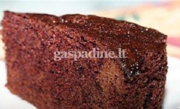 Šokoladinis-kakavinis pyragiukas