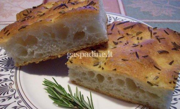 """Duona """"Focaccia"""""""