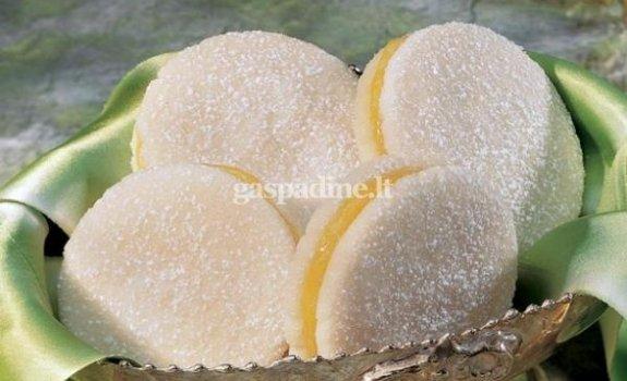 Sausainiai su citrininiu pertepimu