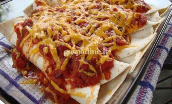"""""""Vištienos enchiladas"""""""