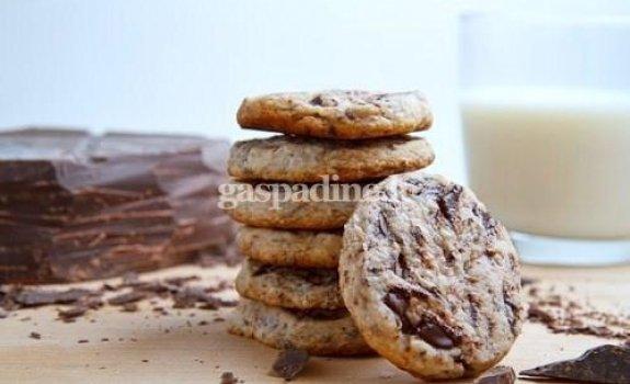 Trapūs juodojo šokolado sausainiai