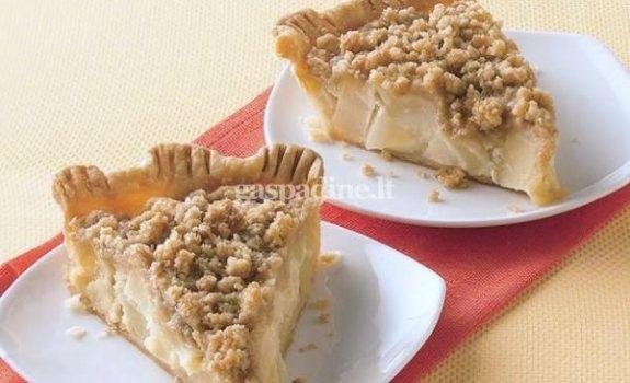 Olandiškas kriaušių pyragas