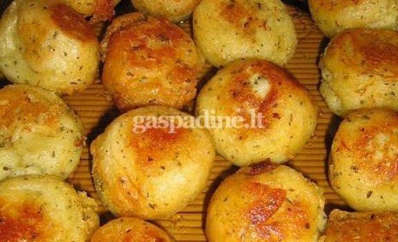 Kepti virtų bulvių kukuliukai