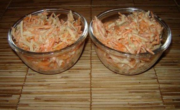 Morkų salotos kitaip