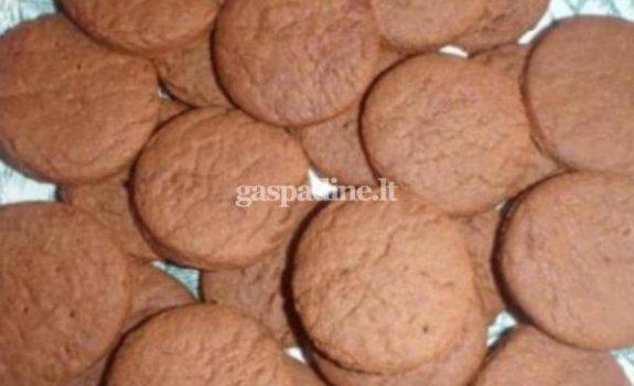 Traškūs kakaviniai sausainiai