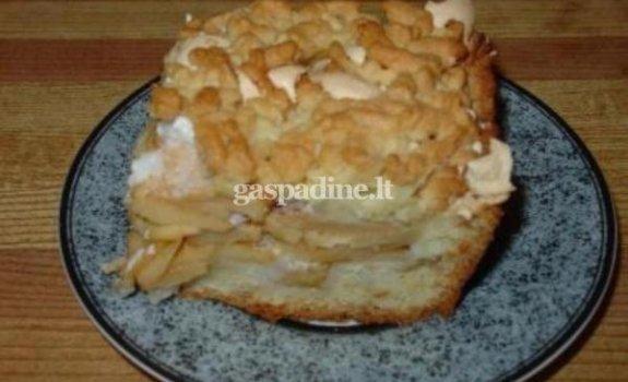 Kitoks obuolių pyragas