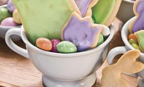 """Sausainiai """"Pavasariniai žiedai"""""""